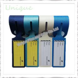 工場カスタム方法昇進のギフトのための防水PVCビジネスゴルフ旅行袋の名札の飛行機の荷物の札