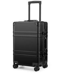 Roues en alliage métallique étanche en aluminium chariot de rouler l'embarquement Bagages valise Pack Sac (CY6843 de cas)