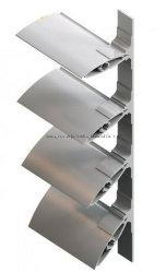De vaste/Regelbare Luifels van het Aluminium van het Aërodynamische vlak voor Sunshading