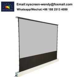 La hausse du plancher électrique Alr Écran de projection motorisé avec Télécommande pour projecteur laser ultra courte portée