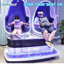 1/2/3 sièges de la réalité virtuelle des lunettes 3D 9D, Président de l'oeuf de cinéma