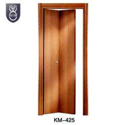 Pliage de matériau bois coulissante de porte d'entrée de cuisine