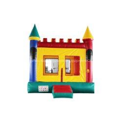 Buntes federnd Schloss-aufblasbares Spielzeug-aufblasbarer Prahler für Vergnügungspark