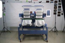 2本のヘッドによってコンピュータ化される刺繍機械12針の帽子の刺繍機械Wy1202CS