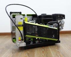 De elektrische of Draagbare Scuba-uitrusting 3000psi Met motor van de Benzine duikt de Compressor van de Lucht van de Ademhaling