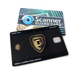 사용자 정의 인쇄 차단 활성화 차단 NFC E-Field RFID 차단 카드 마그네틱 카드