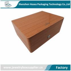Boîte en bois personnalisé de luxe prix d'usine Watch Watch Boîte en bois