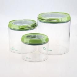 Пк пластиковые очистить контейнер для хранения для продовольственной