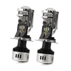 Суперяркий H4 Car светодиодные фары H11, H7 12V 55Вт Светодиодные лампы