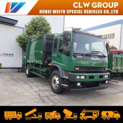 Nagelneuer verwendeter Abfall-LKW Isuzu Abfall-Verdichtungsgerät-LKW Ftr 8t 10tons Hygiene-Komprimierung-Abfall montieren LKW-speziellen Entwurf