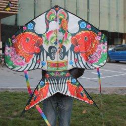 屋外スポーツのおもちゃの子供のための従来の蝶凧
