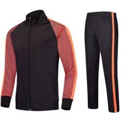 Diseño personalizado al por mayor de 95% Poliéster el 5% Lycra ropa deportiva uniformes de chándal de fútbol de los hombres