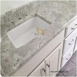 Pietra di granito bianco naturale per piastrelle/Scale/Vanity Top/Countertop/Benchtop