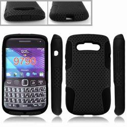 Перфорированные комбинированный чехол для мобильного телефона Blackberry Белладжо 9790 (TX-Combo0009)