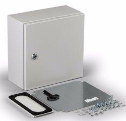 Contador eléctrico exterior da caixa de diferentes formas de controle de alimentação da parede da caixa de metal de montagem em painel de aço Caixa Elétrica