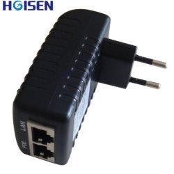 24 Вт переменного тока на заводе прямой адаптер Ethernet Poe CE и FCC/SAA с ЕС/США разъем