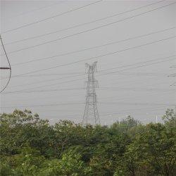 Vente d'usine double circuit de ligne de transmission de la tour de l'angle en acier à haute tension