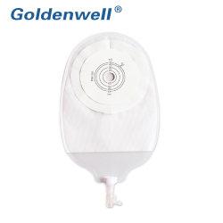 Adhesivos One-Piece médica 45mm 50mm 57mm 60mm de Urostomía orina de la bolsa de ostomía, proveedor de la bolsa de Urostomía