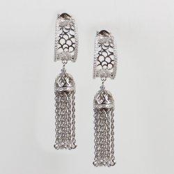 نمط مجوهرات 925 فضة فاخرة [تسّل] طويلة سلاسل حلق سيدات يتزوّج مجوهرات