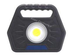 مصباح LED قابل للنقل مزود بإضاءة LED عالية الضوء USB قابل لإعادة الشحن Lithium Super Power Flashlight لتمارين الطوارئ في السيارات وMini Spotlight، Worklig متعدد الوظائف قابل لإعادة الشحن