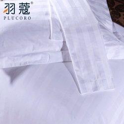 Comercio al por mayor de la banda de 3cm 100% algodón 300TC Hotel Queen Size edredón nórdico