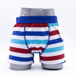 Los muchachos de ropa interior de algodón cómodo OEM Boxer (JMC31025)