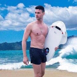 ميني كهربائي زوارق بخارية رياضة ركوب الأمواج بروبيلر المياه سكوتر لوح السباحة على لوح التزلج على الماء لوح مساعد المبتدئين