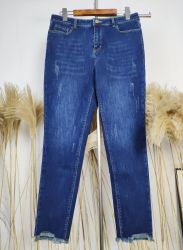 Jeans 2020 de Kwaliteit van Hight van de Fabriek van het Kledingstuk van de Broek van de Broeken van de Vrouwen van de Manier