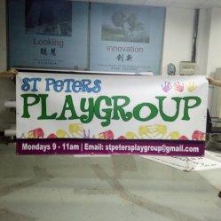Matériel de promotion de vente chaude PVC Banner Impression couleur bannière en vinyle PVC