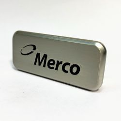 Usine de haute qualité est gravée de gros de la plaque signalétique de métal