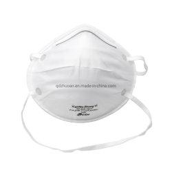 De Niosh Goedgekeurde N95 Witte Maskers van het Stof van het Ademhalingsapparaat van het Masker van het Gezicht van de Vorm van de Kop Beschikbare