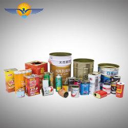 Food Grade металлические краски пищевой категории продуктов круглый Тин может для упаковки продуктов питания пустой устроенных правительством Пакистана торгах может