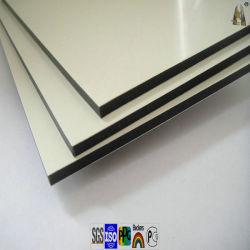 PVDF revêtement PE panneau composite aluminium pour la décoration extérieure