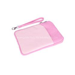 핑크 PU 가죽 노트북 슬리브 케이스 iPad 미니 백 두께 패딩 처리된 태블릿 PC 보호 백