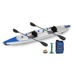 Mar del océano el doble de la pesca kayak inflable persona fabricante