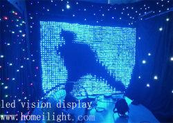 DJ Décoration Vision LED Rideau avec Star souple