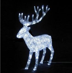 Décoration de canard d'éclairage Lampe à LED Lumière de Noël feux Motif animal