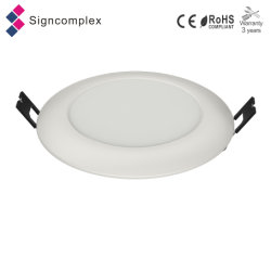 """極度10mm IP64 4 """" 6 """"バルコニーの台所のための円形の防水LEDの照明灯を細くしなさい"""