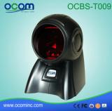 Ordinateur de bureau Ocbs-T009 Caisse enregistreuse CCD du scanner de code à barres laser