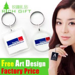 На заводе прямой продажи рекламных подарков в салоне поперечной траверсы Custom металлические цепочки ключей