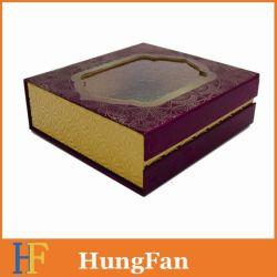 Cosmetic Packaging avec fenêtre pvc pour Papier Premium boîte cadeau