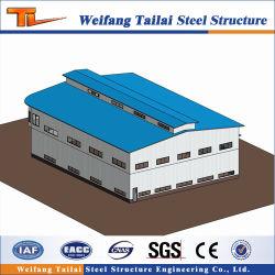 Q345鉄骨構造の構築の建物は波形カラー鋼板を計画する