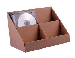 Stand-Store картона в момент продажи, дисплей для установки в стойку для CD/DVD/поздравительные открытки