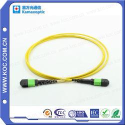 Оптоволоконный кабель шнура исправлений ГПО/MTP