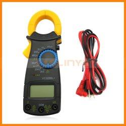 Voltmètre Ampèremètre de l'ohmmètre testeur pince multimètre numérique