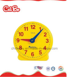 Les jouets en plastique de l'horloge d'enseignants, l'École d'alimentation, les jouets d'apprentissage (CB-ED017-M)