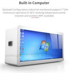 Yashi 23,6 pouces écran tactile IR 2 Points Boîte d'affichage LCD transparent