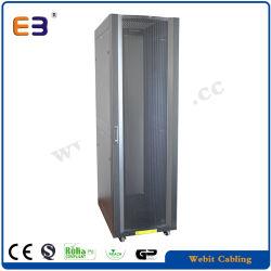 19-дюймовый шкаф сервера для тяжелого режима работы до 1300 кг Maxmum статической нагрузки и быстрая установка с 24 ПК гайки