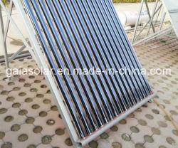Utilisation de la famille l'énergie solaire chauffe-eau