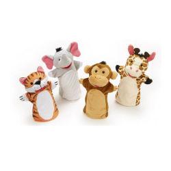 Peluche lindo Animal Títeres para niños